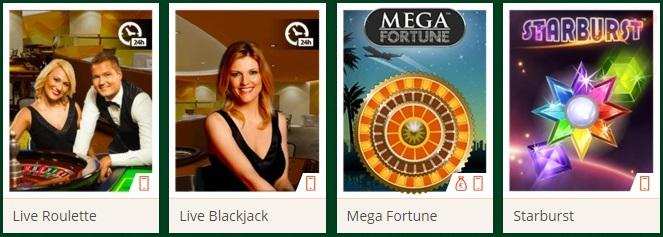 Een online casino heeft een gevarieerd aanbod van spellen
