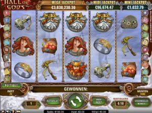 Jackpot Slots hall of gods